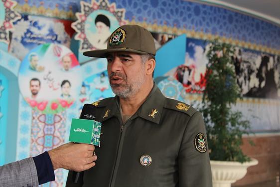 مصاحبه با مسئول آموزش و مهارت آموزی ارتش درروز آزمون تعیین سطح مربیان ICT